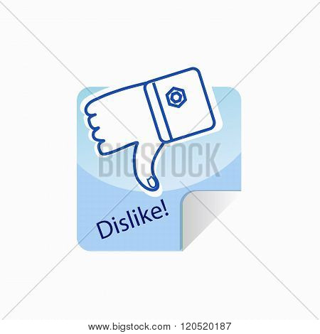 concept of dislike
