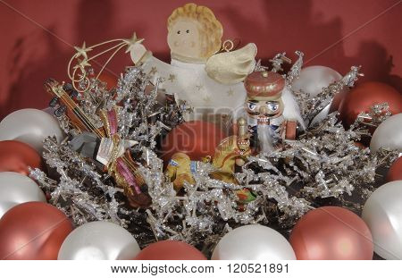 Angel And Nutcracker