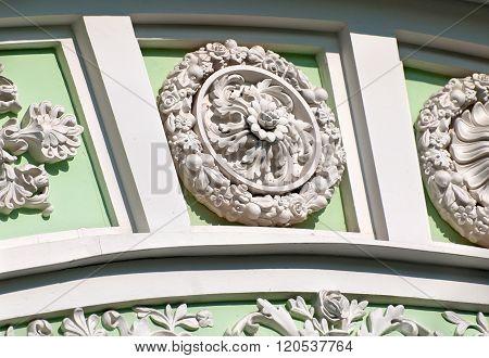 Tsarskoye Selo (Pushkin).  Russia. Rosette
