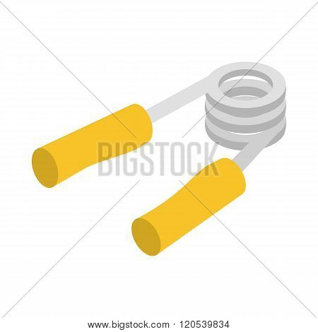 Hand grip exerciser or trainer icon