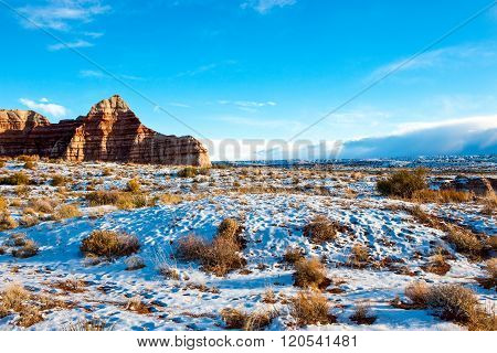 USA, Utah, the Vermillion Cliffs of the Paria Canyon.