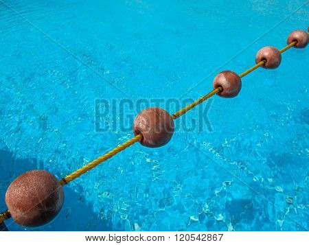 Pool With Buoys