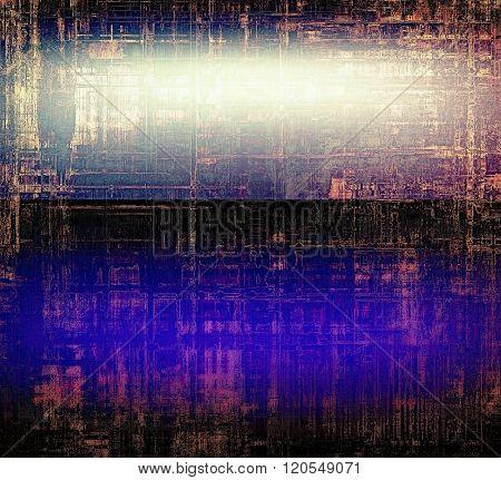 Art grunge vintage textured background. With different color patterns: brown; blue; black; purple (violet); pink