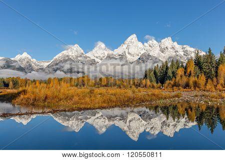 Teton Fall Reflection