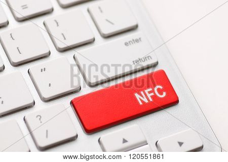 Computer Keyboard With Nfc Technology