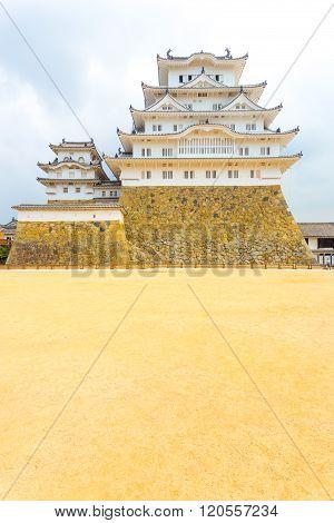 Himeji Jo Castle Base Courtyard