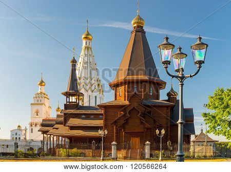 Beautiful All Saints Church On A Sunny Day, Minsk, Belarus