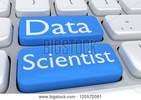 Data Scientist Concept