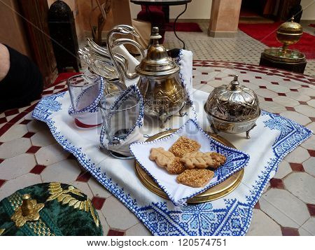 Tea for two - Moroccan style