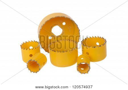 Yellow Hole Saw Drill Bits