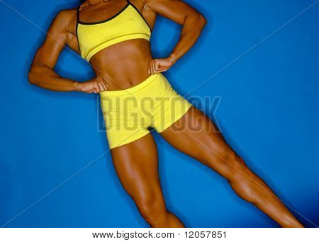 Female body builder