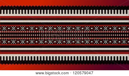 A Middle Eastern Traditional Carpet Fabric Texture