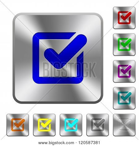 Steel Checkbox Buttons
