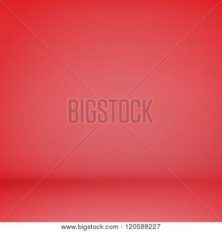 Red Empty Scene