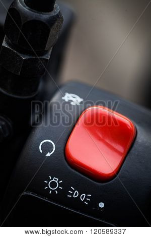 Motorcycle Ignition Button