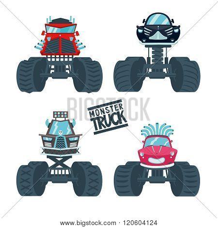Monster Truck Set