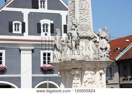 Monument To Plague, Detail