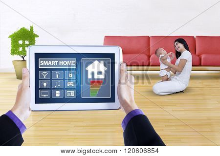 Modern App Of Smart Home System