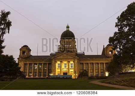 Hanseatic Higher Regional Court building in Hamburg in Germany