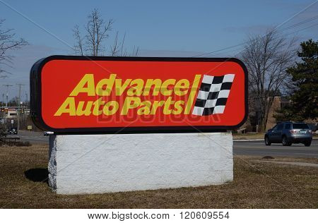 Advance Auto Parts Store Logo