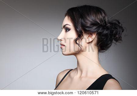 Fashion Brunette Girl
