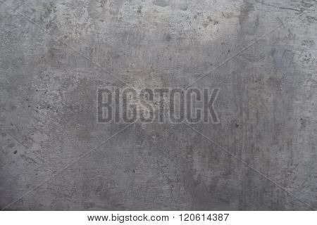 Gray Abstract Grunge Background, Old Metal Background