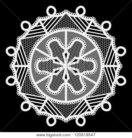 Lace round paper doily doily to decorate the cake doily under the plates festive doily white doily l