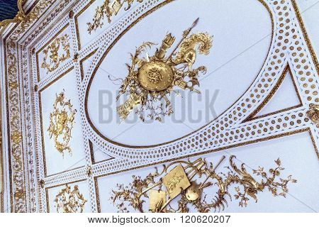 Music Room Ceiling From Norfolk House, St James's Square, London.  Victoria & Albert Museum,