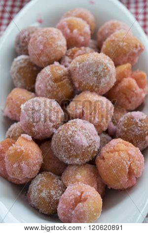 Carnival Sweet Called Castagnole