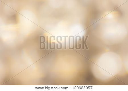 blurred gold flare abstract background