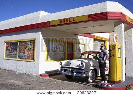 A 50S Ford Station Wagon, Lowell, Arizona