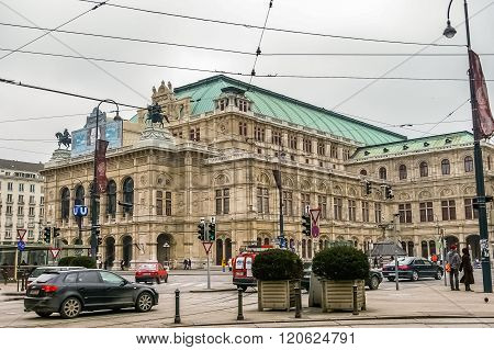 View On Vienna State Opera