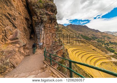 Exploring Inca Trails And Terraces Of Pisac, Peru