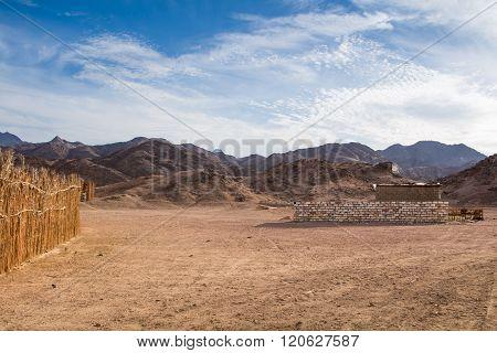 Desert And Rocky Mountains, Egypt
