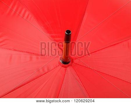 Red Stripe Umbrella