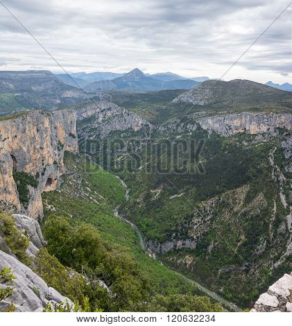 Gorge Du Verdon In Provence