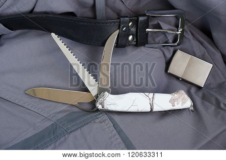 Folding Multipurpose Knife