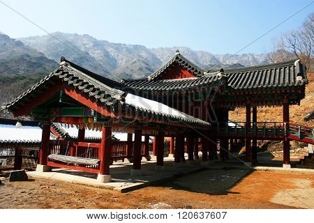 Gangwon Province. South Korea.