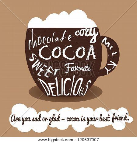 Cocoa Vintage Card