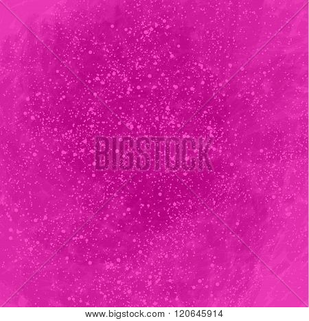 Pink Abstract Background With Lots Of Bubbles