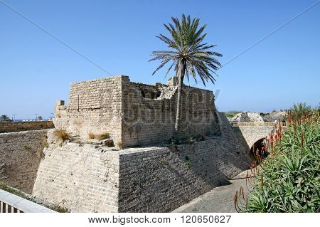 City Crusaders In Caesarea, Israel