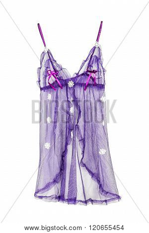 Sexy Nightwear Isolated On White