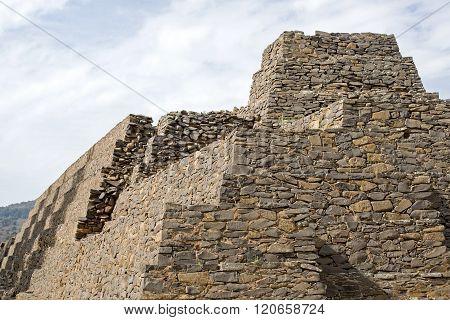 Pre Columbian Pyramid In Tzintzuntzan