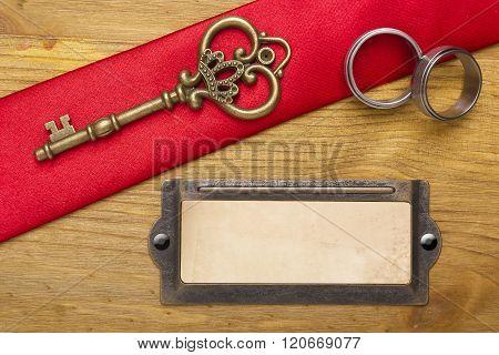 Key And Wedding Rings