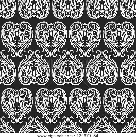Vector Seamless Repeating Abstract Vintage Pattern