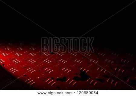 Red Diamond Plate