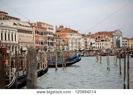 Delightful Cityscape Of Venetian Street