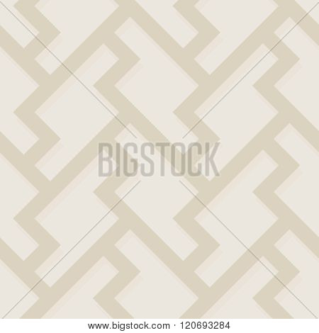 Geometric Abstract Seamless Color Pattern. Classic Flooring Background. Simple Vector Illustration