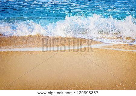Surf On The Seashore