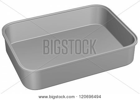 Kitchen Pan, Isolated On White Background